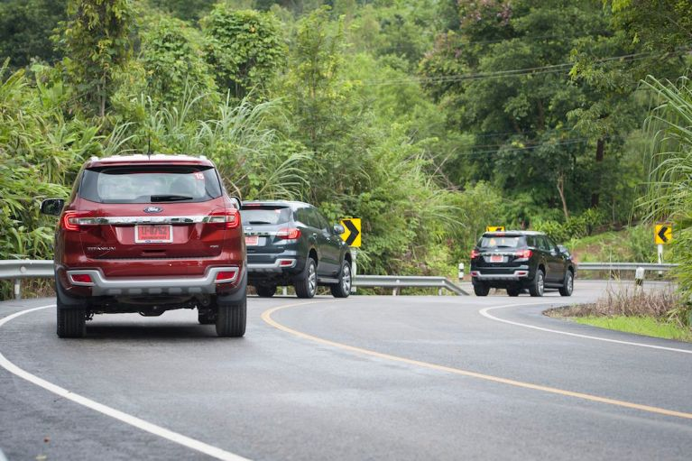 Ford Everest drive 026