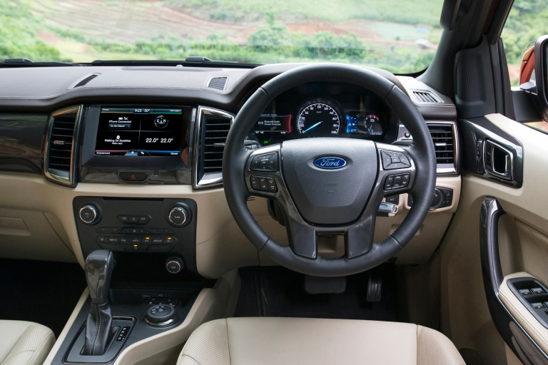 Ford Everest on location 020