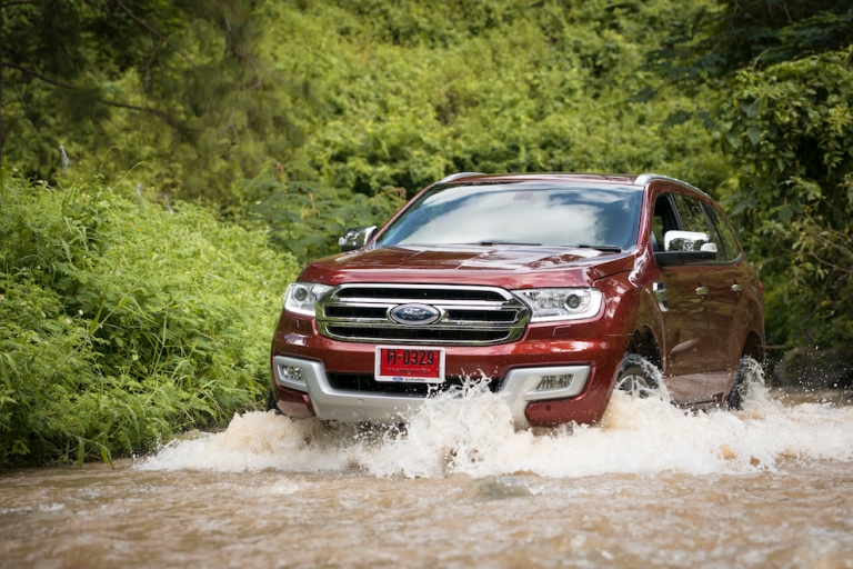 Ford Everest on location 030